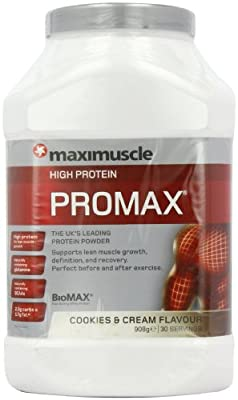 MaxiMuscle Promax Lean High Protein Ba, 55 g, Pack of 12