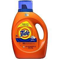 Tide Laundry Detergent Liquid Original Scent HE Turbo Clean 64 Loads