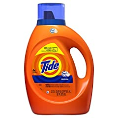10x the cleaning power ( stain removal of 1 dose vs. 10x doses of the leading liquid bargain brand) Tide Plus Ultra stain release formula that helps remove 99% of everyday stains vs. Tide Original. Amazing Tide clean from America's #1 detergent based...