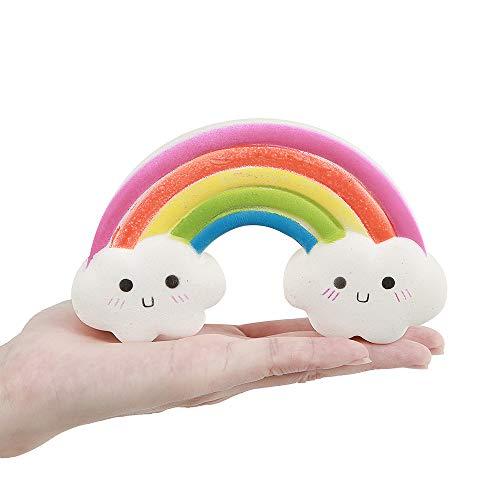 Anboor Squishies Regenbogenbrücke Langsam Steigende Kawaii Duftende Weiche Squishies Toys