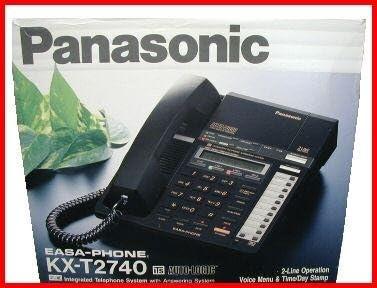 Panasonic KX-T2740 Easa-phone 2-Line Integrated Telephone Mini-Cassette Answering System