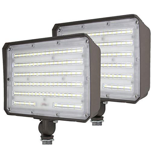 2 Pack Dakason 100W LED Flood Light Outdoor,...