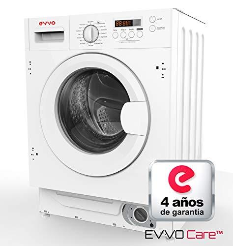 Lavadora integrable EVVO i8w Marca Española. 8KG /1400RPM/A+++