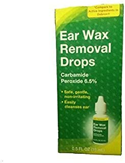 Ear Wax Removal Drops, 0.5 fl oz (Pack of 3)