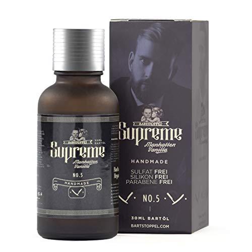 Bartöl Vanille Duft Bartpflege Männer Beard Oil von Bartstoppel© Supreme