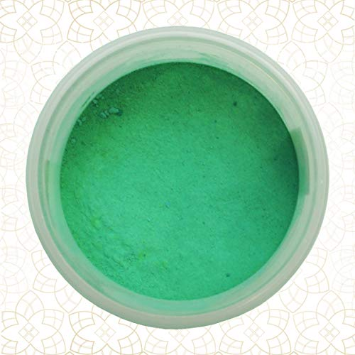 MAT POWDER - FOREST GREEN - 5 g - 100% Essbare Lebensmittel Pulverfarbe Shantys