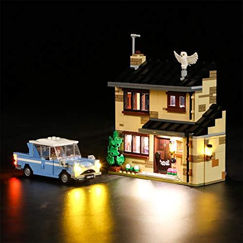 Oeasy Beleuchtung Set für Lego 75968 Harry Potter Ligusterweg 4, LED Licht Kit für Lego 75968 (Nicht Enthalten Lego Modell)