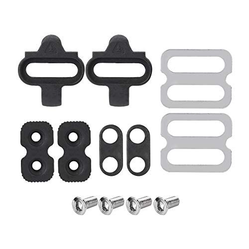 VGEBY Mountain Bike Accessories Cleats Set for SPD Pedals PD-M520 M540 M324 M545 M424 M647 M959 Set for SPD Pedal