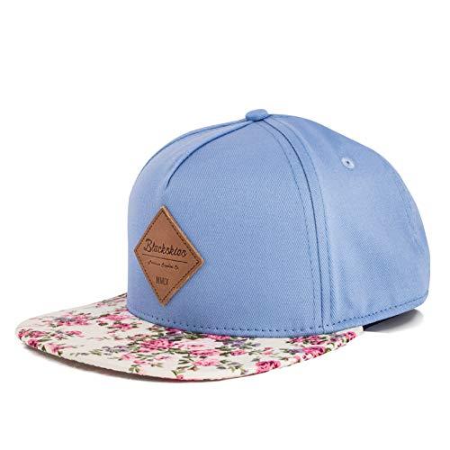 Blackskies Sakura Vol. II Snapback Cap | Damen Herren Baseball Mütze Kappe Surfer Skater Basecap Blumen Bunt Kirschblüten