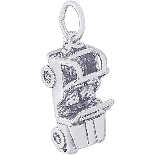 Rembrandt Charms Jeep Charm Pendant in Gold Silver (Sterling Silver)