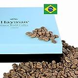 Caffè brasiliano vincitore del premio Cup of Excellence®* - Chicchi di caffè non tostati - Uno dei migliori caffè del mondo, fresco dall'ultima ritaglia! (Scatola con 100g/3.5oz)