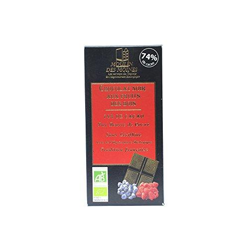 Moulin des moines - Chocolat Noir Fruits Des Bois 100g