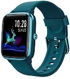 Montre Connectée Femmes,Montre Intelligente Homme IP68Etanche Bracelet Connecté Cardio Podometre Smartwatch Sport Fitness Tracker d'Activité Contrôle de la Musique GPS pour Android iPhone