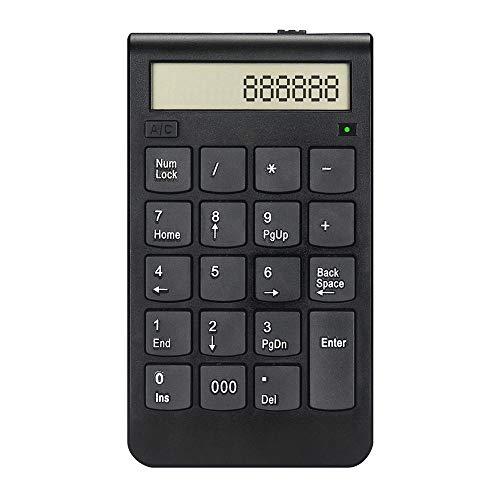 LXH-SH Keyboard Spielen 2.4G Tastatur USB-Insert Anschluss Wiederaufladbare Smart-Tastatur Finanzwesen Elektro Rechner