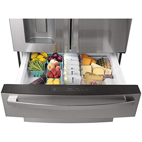 GE Profile PVD28BYNFS 27.6 Cu.Ft. Stainless French Door Smart Refrigerator
