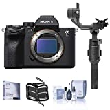 Sony Alpha a7S III Mirrorless Digital Camera Body - Bundle with DJI Ronin-SC Gimbal Stabilizer, Screen Protector, Memory Card Wallet, Cleaning Kit