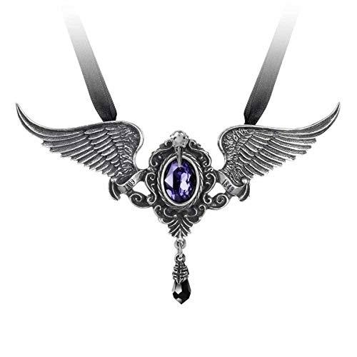 Alchemy Gothic Collier Edgar Allan Poe Neo Viktorianisch Anhänger Amulett