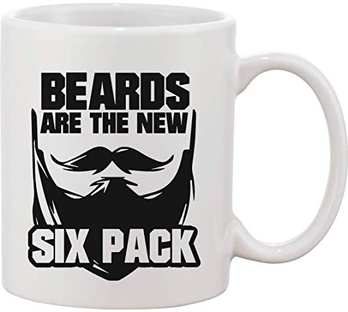 Beards are The New Six Pack Taza de cerámica bnft