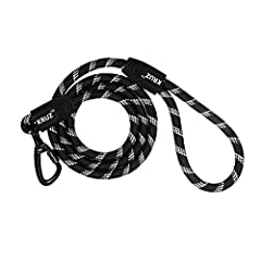 HEAVY-DUTY ROPE LEAD - The Kruz 4 FT and 5 FT Reflective Rope Leash for dogs is a popular length and works well for walking and basic obedience training of puppies and young dogs. It's easy to snap on to any dog collar or harness. COMFORT-GRIP LOOP H...