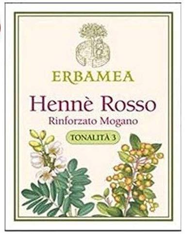 ERBAMEA - HENNE' ROSSO RINFORZATO MOGANO TONALITA' 3 100 GR