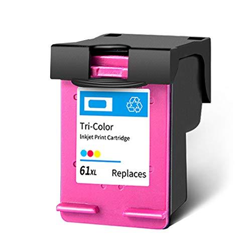 Cartucho de tinta 61XL, repuesto para impresoras HP Deskjet 2620 3510 1510 3055A Envy 4500 5530 OfficeJet 2620 4630, color negro y tricolor