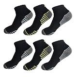 6 Paar Damen und Herren Sportsocken Kurze Sneaker Socken Laufsocken 39-42 / mehrfa