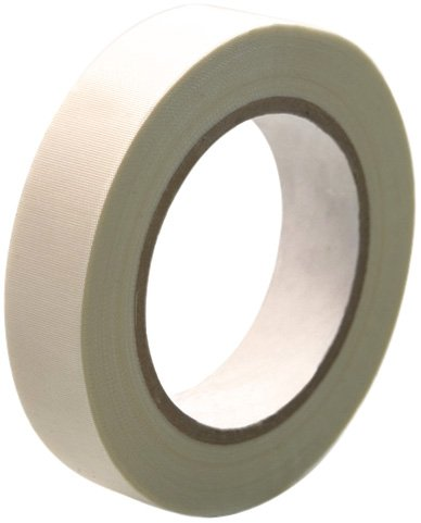 CS Hyde High Temperature Fiberglass Tape With Silicone Adhesive, Ivory 1/2 inch x 36 yards