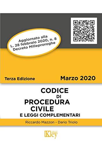 Codice di procedura civile e leggi complementari (Codici Tascabili) (Italian Edition)