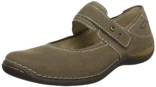 Camel active Marrakesh 12 7371201, Damen Mary Jane Halbschuhe, Beige (taupe), EU 37.5 (UK 4.5) (US 6.5)