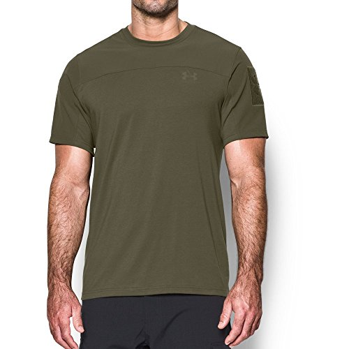 Under Armour Tactical T-Shirt Homme, Marine Od Green, FR (Taille Fabricant : XL)
