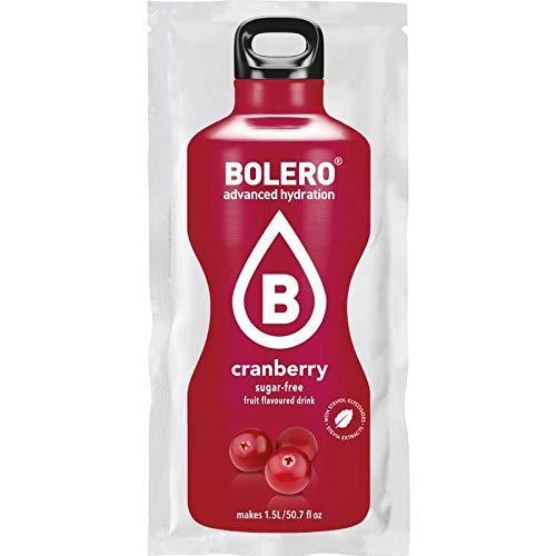 Bolero - Bolero con Stevia - 9g - Mirtillo, Scatola da 12 Unitá