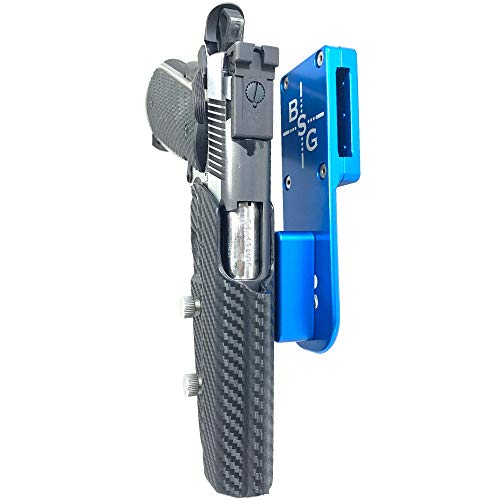 1911 blue gun - 3