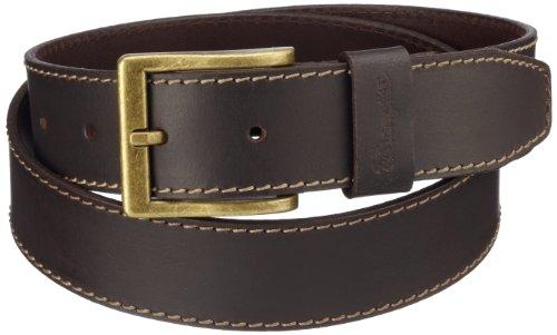 Wrangler Basic - Ceinture - Homme - Marron (Brown) - FR: 95 cm (Taille fabricant: 95)