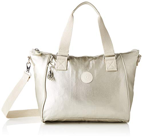 Kipling Damen Amiel Tornistertasche, Gold (Cloud Metal), 27x24.5x14.5 cm