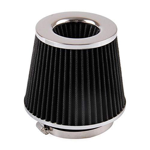Rumors Luftfilter 150mm Auto Leistung High Flow Belüftungsfilter Pilz-Kopf-Auto-Luftfilter fit for Kaltluftansaugsystem