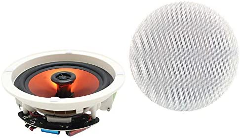 Herdio 6 5 Flush Mount in Ceiling Wall Speakers 2 Way Home Speaker System 300 Watts Perfect product image