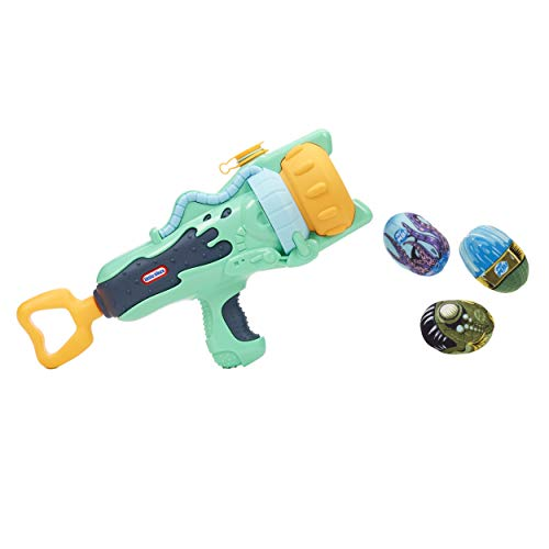 Little Tikes Mighty Blasters Spray Blaster Toy Blaster Sprays Water with 3 Soft Power Pods for Kids Ages 3 Years and Up