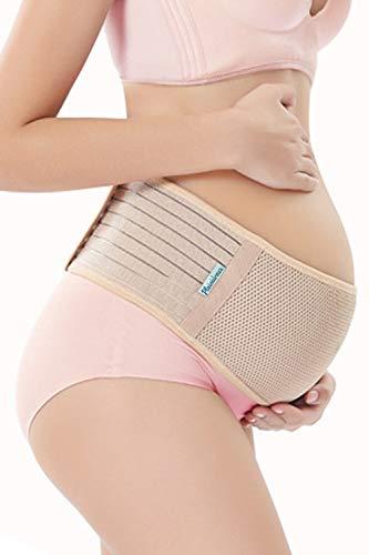 Plaisiureux 妊婦 腹帯 妊婦帯 骨盤ベルト マタニティベルト 戌の日 手術 サラシ(XL)
