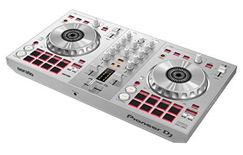 Pioneer DJ DJ Controller, Silver (DDJ-SB3-S)