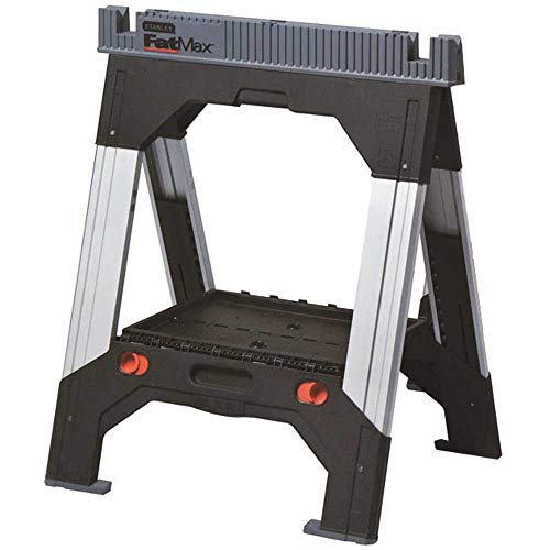 STANLEY 011031S FATMAX SAWHORSE WITH ADJUSTABLE LEGS
