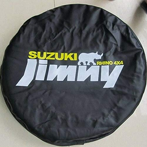 Aufbewahrungstasche für Suzuki Autos Reserverad-Reifen-Abdeckung, weich, 35,6 cm, 38,1 cm, passend für Grand Vitara XL-7, Jimny Samurai Sidekick SX4 (Jimny: Black Jimny Rhino 4x4, S: für C/R 25~27,3)