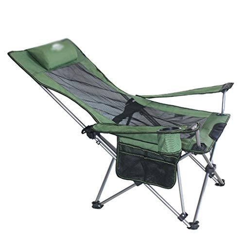 Tingting1992 terraza tumbonas Silla Plegable al Aire Libre,Ligera con Bolsa de Transporte,Plegable...
