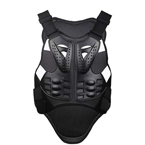 tJexePYK Volver Motocicleta Motocicleta Guardia Body Armor Protector del Cuerpo del Chaleco Parte Posterior del Pecho Protector de la Motocicleta Accesorios XL