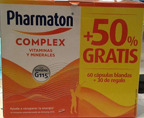 PHARMATON COMPLEX CAPSULAS 60 CAPS + 30 REGALO