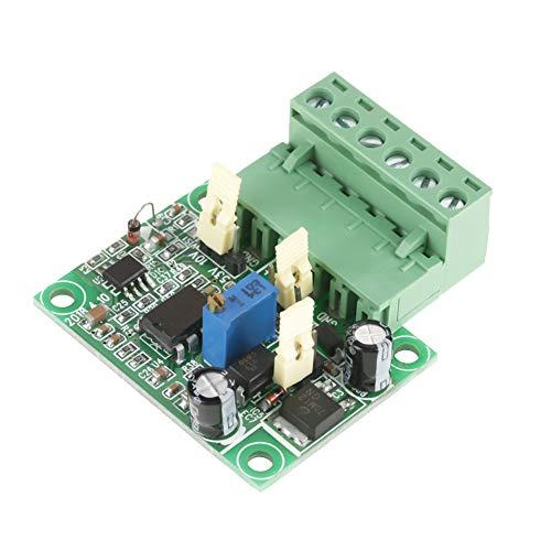 Módulo Convertidor de Frecuencia a Voltaje, 0-10 KHz a 0-10 V Módulo Convertidor de Señal 3.3V 5V 24V Entrada DC 0-10V Salida Ajustable con Función de Aslamiento