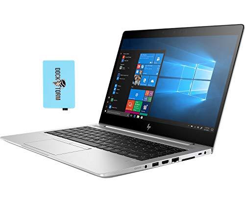 HP EliteBook 840 G6 Home and Business Laptop (Intel i7-8565U 4-Core, 8GB RAM, 1TB PCIe SSD, Intel UHD 620, 14.0' Full HD (1920x1080), Fingerprint, WiFi, Bluetooth, Webcam, Win 10 Pro) with Hub