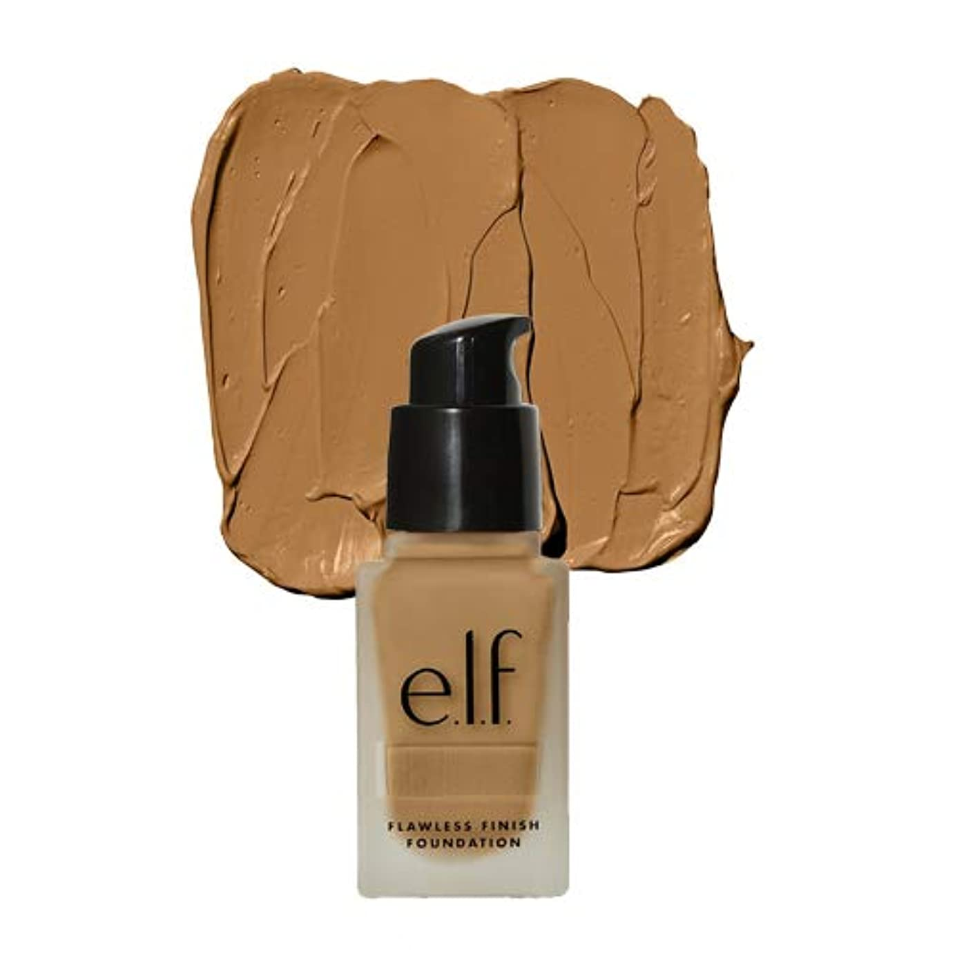 感謝祭不平を言う国旗(6 Pack) e.l.f. Oil Free Flawless Finish Foundation - Linen (並行輸入品)