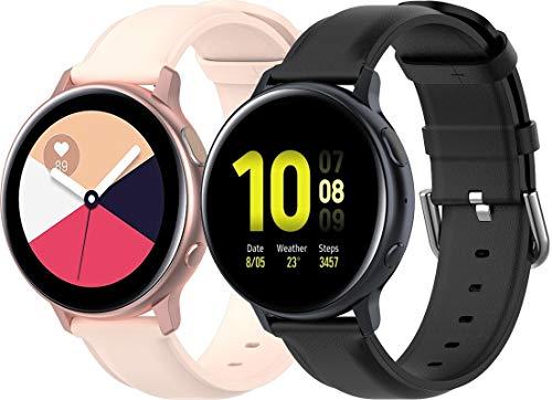 Reloj de Correa Cuero Compatible con Amazfit GTR 42mm / GTS/