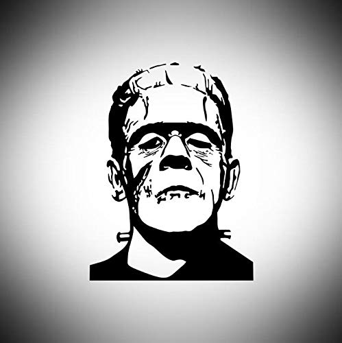 Lplpol Frankenstein Decal | It's Alive | Halloween Laptop Vinyl Decal Window Wall Sticker Car Decal 6 inches
