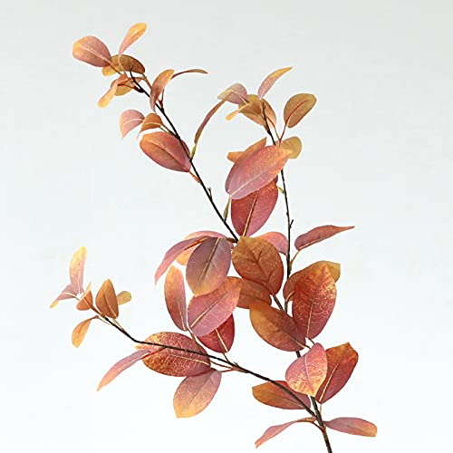 ZYZYZY Flores Falsas Ramos Eucalipto Flor De Simulación Floral Decoraciones Interiores Al Aire Libre Jardín Decoración del Hogar Flores Secas-D 93 cm